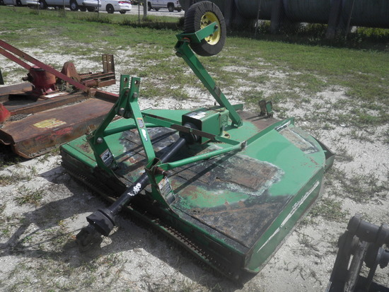 11-01146 (Equip.-Mower)  Seller:Private/Dealer JOHN DEERE MX6 6 FOOT 3PT HITCH ROTARY