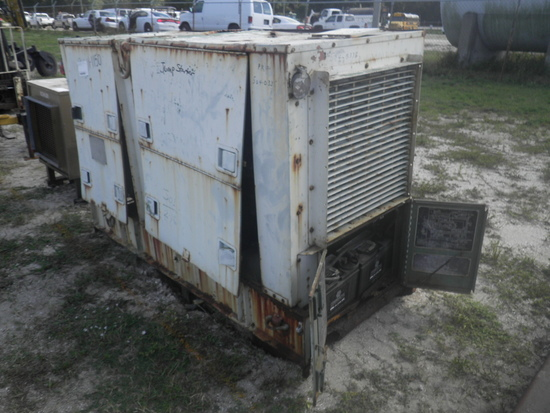 11-01150 (Equip.-Generator)  Seller:Private/Dealer 30KW DIESEL STATIONARY GENERATOR