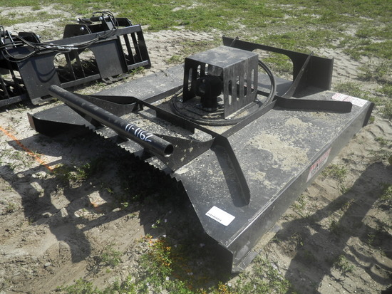 11-01162 (Equip.-Mower)  Seller:Private/Dealer 72 INCH HEAVY DUTY SKID STEER LOADER