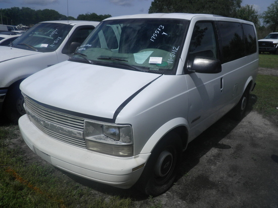 11-05112 (Cars-Van 3D)  Seller: Florida State A.C.S. 1999 CHEV ASTRO
