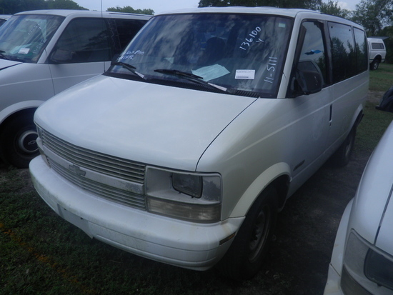 11-05111 (Cars-Van 3D)  Seller: Florida State A.C.S. 2000 CHEV ASTRO