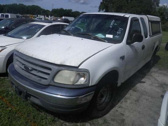11-05113 (Trucks-Pickup 2D)  Seller: Florida State A.C.S. 2000 FORD F150