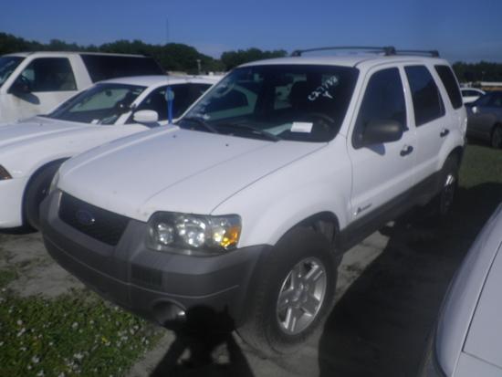 11-05123 (Cars-SUV 4D)  Seller: Gov/Hillsborough County B.O.C.C. 2006 FORD ESCAPE
