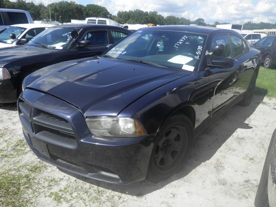 11-05130 (Cars-Sedan 4D)  Seller: Gov/Hillsborough County Sheriff-s 2012 DODG CHARGER