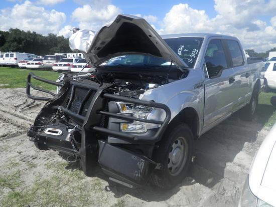 11-05133 (Trucks-Pickup 4D)  Seller: Florida State F.W.C. 2017 FORD F150