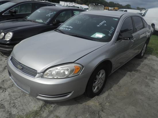 11-05134 (Cars-Sedan 4D)  Seller: Gov/Pinellas County Sheriff-s Ofc 2007 CHEV IMPALA
