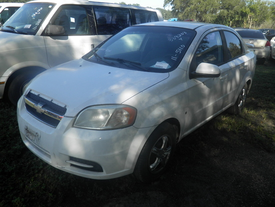 11-05110 (Cars-Sedan 4D)  Seller:Private/Dealer 2009 CHEV AVEO