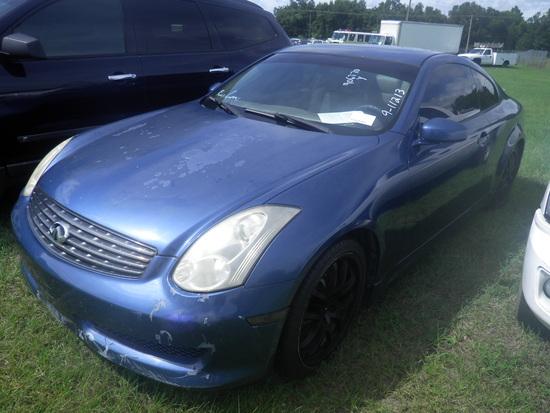 11-07126 (Cars-Coupe 2D)  Seller:Private/Dealer 2007 INFI G35