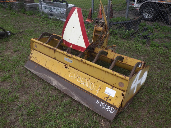 7-01110 (Equip.-Implement- misc.)  Seller: Florida State D.O.T. GANNON 6 FOOT MA