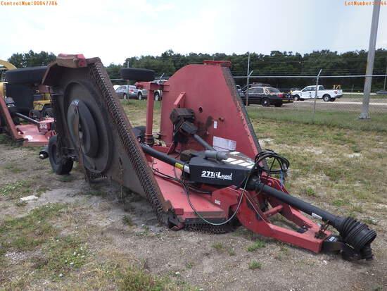 7-01144 (Equip.-Mower)  Seller: Gov-Hillsborough County B.O.C.C. BUSH HOG 2715 L