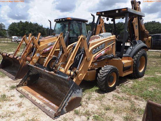 7-01154 (Equip.-Backhoe)  Seller:Private/Dealer CASE 580N OROPS TRACTOR LOADER B