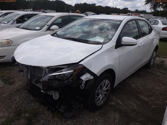 7-05126 (Cars-Sedan 4D)  Seller: Gov-Pasco County Sheriff-s Office 2019 TOYT COR