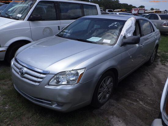 7-05115 (Cars-Sedan 4D)  Seller:Private/Dealer 2007 TOYT AVALON