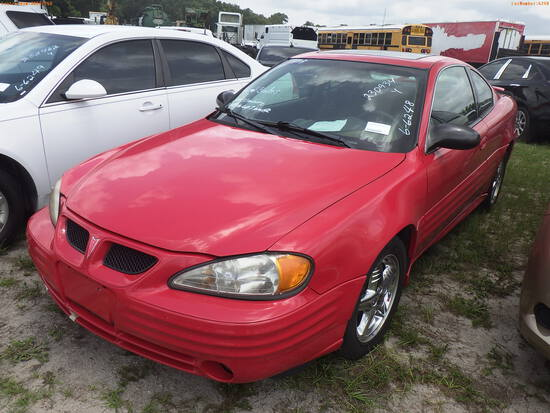 7-05116 (Cars-Coupe 2D)  Seller: Gov-Martin County Sheriff-s Office 2002 PONT GR
