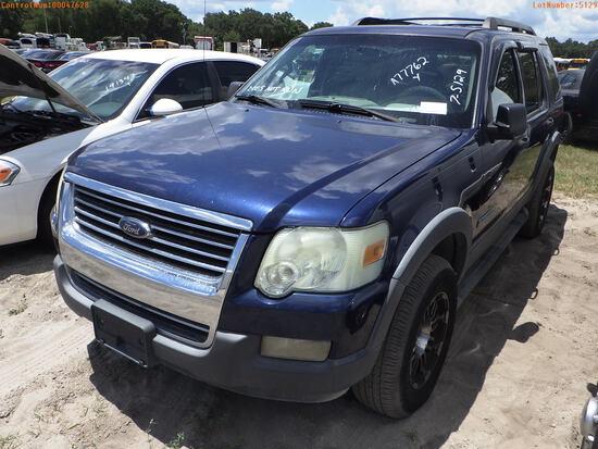 7-05129 (Cars-SUV 4D)  Seller:Private/Dealer 2006 FORD EXPLORER