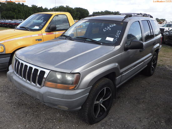 7-05135 (Cars-SUV 4D)  Seller:Private/Dealer 1999 JEEP GRANDCHER