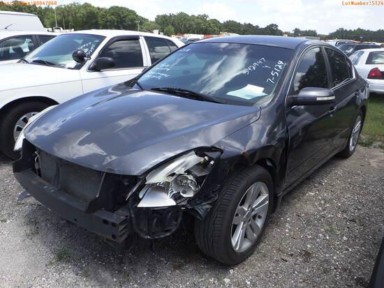 7-05124 (Cars-Sedan 4D)  Seller: Florida State F.D.L.E. 2010 NISS ALTIMA