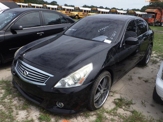 7-07126 (Cars-Sedan 4D)  Seller:Private/Dealer 2012 INFI G37
