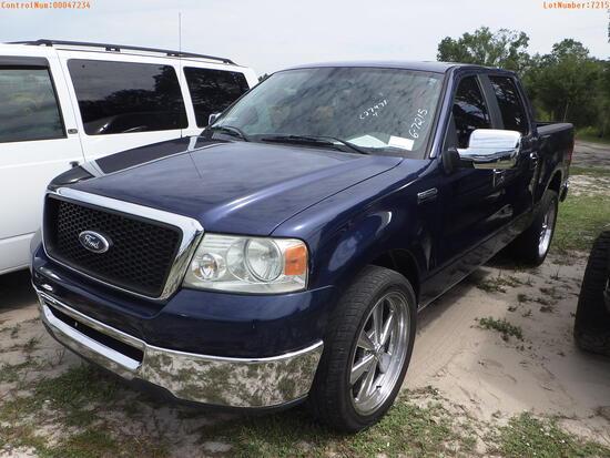 7-07128 (Trucks-Pickup 4D)  Seller:Private/Dealer 2008 FORD F150