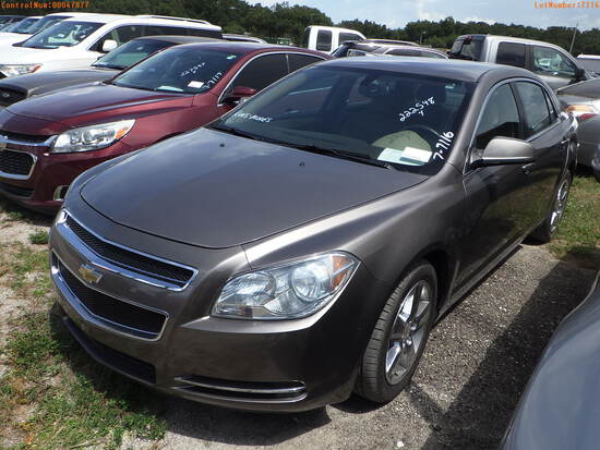 7-07116 (Cars-Sedan 4D)  Seller:Private/Dealer 2010 CHEV MALIBU