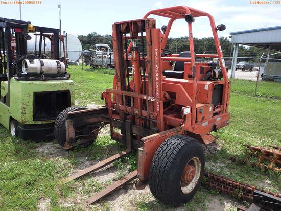 8-01128 (Equip.-Fork lift)  Seller:Private/Dealer PRINCETON D5000 PIGGY BACK FOR