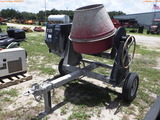 8-02114 (Equip.-Mixer)  Seller: Gov-City of Oldsmar SINGLE AXLE TAG ALONG CEMENT