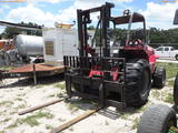 8-01192 (Equip.-Fork lift)  Seller: Gov-City Of Clearwater MANITOU M30-2 ALL TER