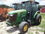 8-01180 (Equip.-Tractor)  Seller: Gov-City Of Clearwater JOHN DEERE 5085M 4X4 CA