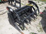8-01536 (Equip.-Implement- misc.)  Seller:Private/Dealer QUICK CONNECT SKID STEE