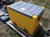 8-02170 (Equip.-Storage tank)  Seller:Private/Dealer POLY FUEL TANK WITH PUMP &