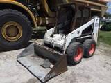 8-01690 (Equip.-Loader- skid steer)  Seller:Private/Dealer BOBCAT S130 RUBBER TI