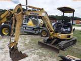 8-01576 (Equip.-Excavator)  Seller:Private/Dealer KOMATSU PC27MR RUBBER TRACK EX
