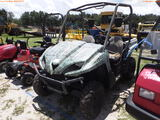 8-02220 (Equip.-Utility vehicle)  Seller:Private/Dealer KAWASAKI SIDE BY SIDE UT