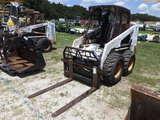8-01568 (Equip.-Loader- skid steer)  Seller:Private/Dealer BOBCAT S130 RUBBER TI