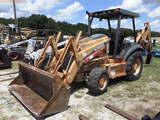 8-01566 (Equip.-Backhoe)  Seller:Private/Dealer CASE 580 SUPER M SERIES 2 OROPS