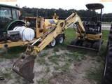 8-01176 (Equip.-Excavator)  Seller:Private/Dealer KOMATSU PC27MR-2 OROPS RUBBER