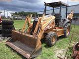 8-01116 (Equip.-Backhoe)  Seller:Private/Dealer CASE 580 SUPER M 4X4 TRACTOR LOA