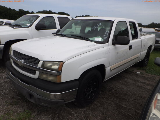 8-05129 (Trucks-Pickup 2D)  Seller:Private/Dealer 2005 CHEV 1500