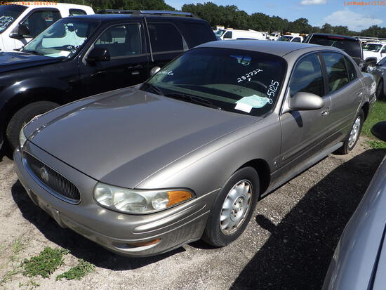 8-05125 (Cars-Sedan 4D)  Seller:Private/Dealer 2001 BUIC LESABRE