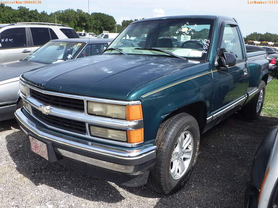 8-05133 (Trucks-Pickup 2D)  Seller:Private/Dealer 1998 CHEV 1500