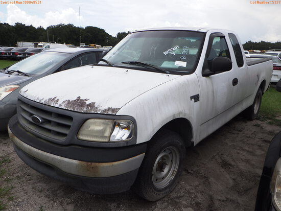 8-05127 (Trucks-Pickup 2D)  Seller: Florida State A.C.S. 2000 FORD F150