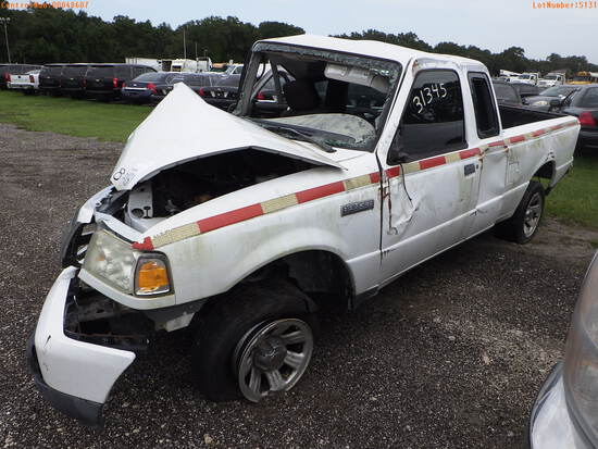 8-05131 (Trucks-Pickup 2D)  Seller: Florida State D.O.T. 2010 FORD RANGER