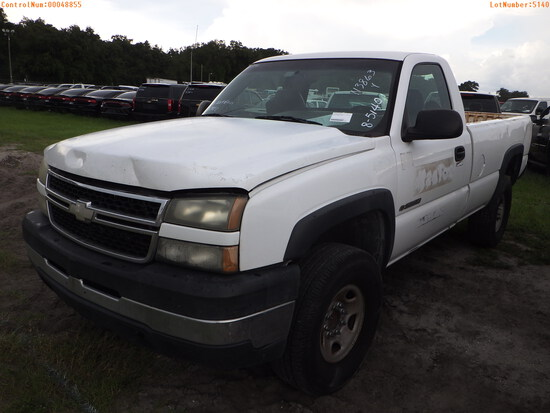 8-05140 (Trucks-Pickup 2D)  Seller:Private/Dealer 2007 CHEV 2500HD