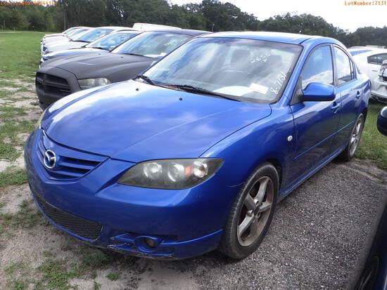 8-07131 (Cars-Sedan 4D)  Seller:Private/Dealer 2005 MAZD 3