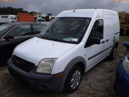 8-07123 (Trucks-Van Cargo)  Seller:Private/Dealer 2011 FORD TRANSIT
