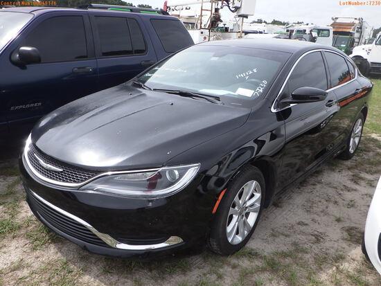 8-07120 (Cars-Sedan 4D)  Seller:Private/Dealer 2016 CHRY 200