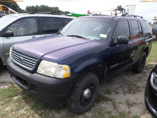 8-07119 (Cars-SUV 4D)  Seller:Private/Dealer 2002 FORD EXPLORER