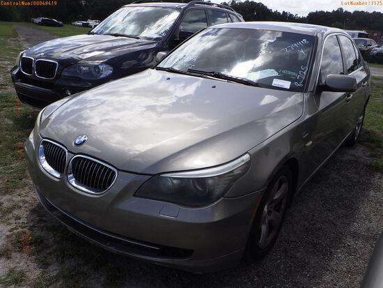 8-07125 (Cars-Sedan 4D)  Seller:Private/Dealer 2008 BMW 535I
