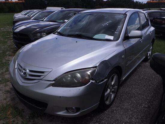 8-07129 (Cars-Hatchback 4D)  Seller:Private/Dealer 2006 MAZD 3