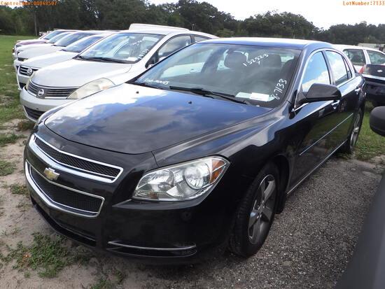 8-07133 (Cars-Sedan 4D)  Seller:Private/Dealer 2012 CHEV MALIBU
